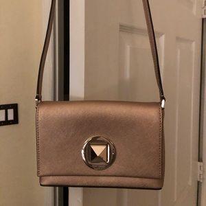 kate spade Bags - Kate Spade Rose Gold Crossbody/shoulder  bag